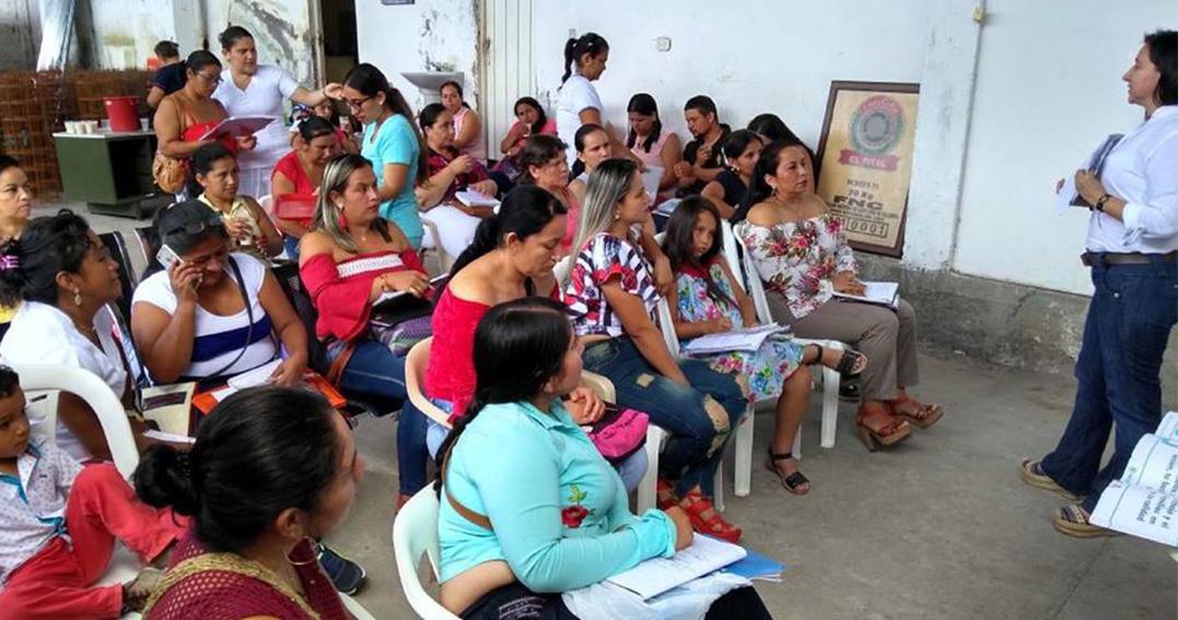 En el Pital realizan socialización de la ruta de violencia de género