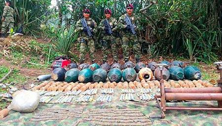 En Nataga fue hallado depósito ilegal de Los Caqueteños