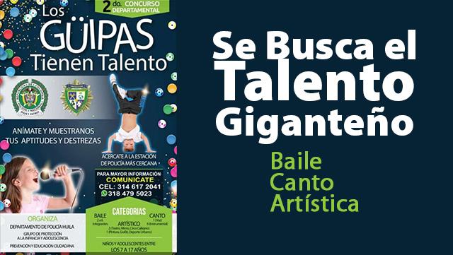 """""""Los Güipas tienen talento"""" llega a Gigante"""
