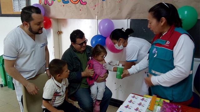 En el mes de la niñez, más de 8.600 niños fueron vacunados