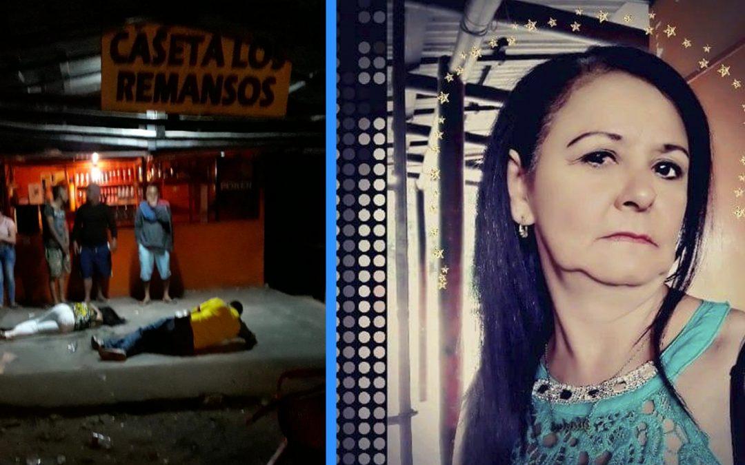 Una mujer asesinada y un hombre herido dejan un ataque a bala en gigante.