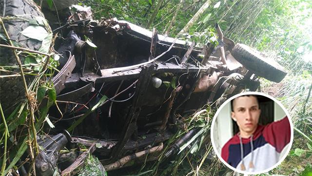 Un muerto y un herido dejan accidente de tránsito en zona rural de Gigante