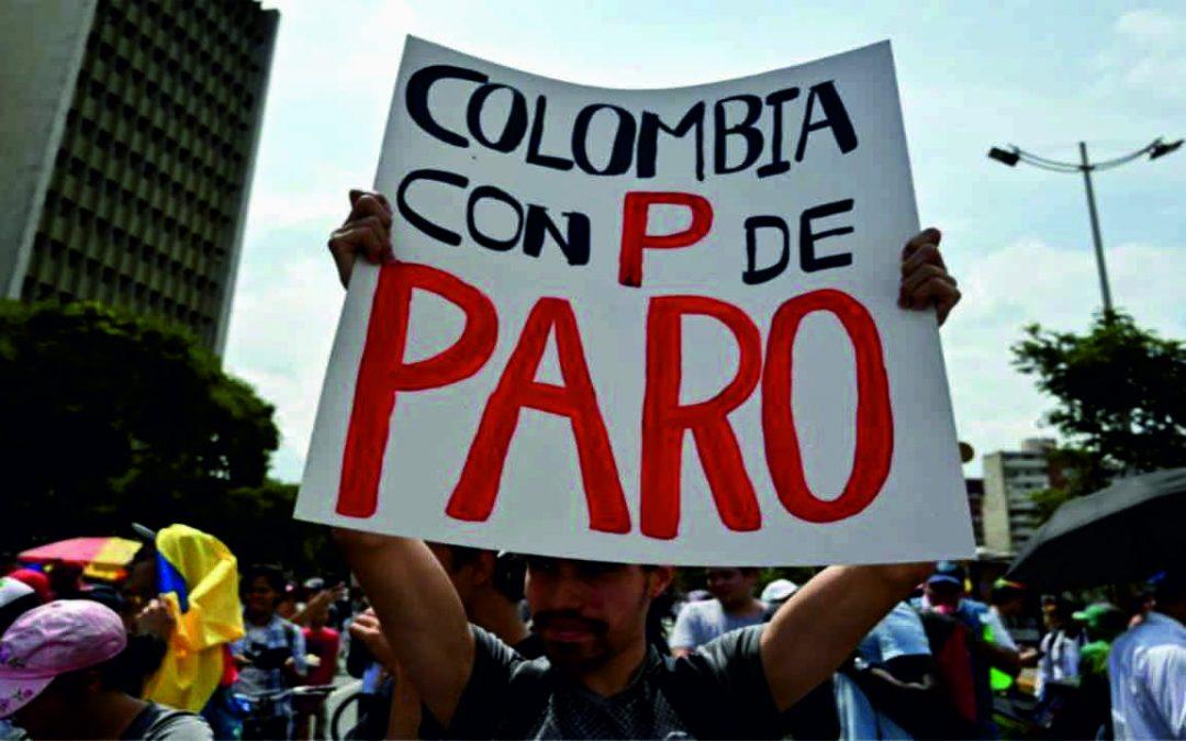 Anuncian Paro Nacional Contra El Proyecto De Reforma Tributaria